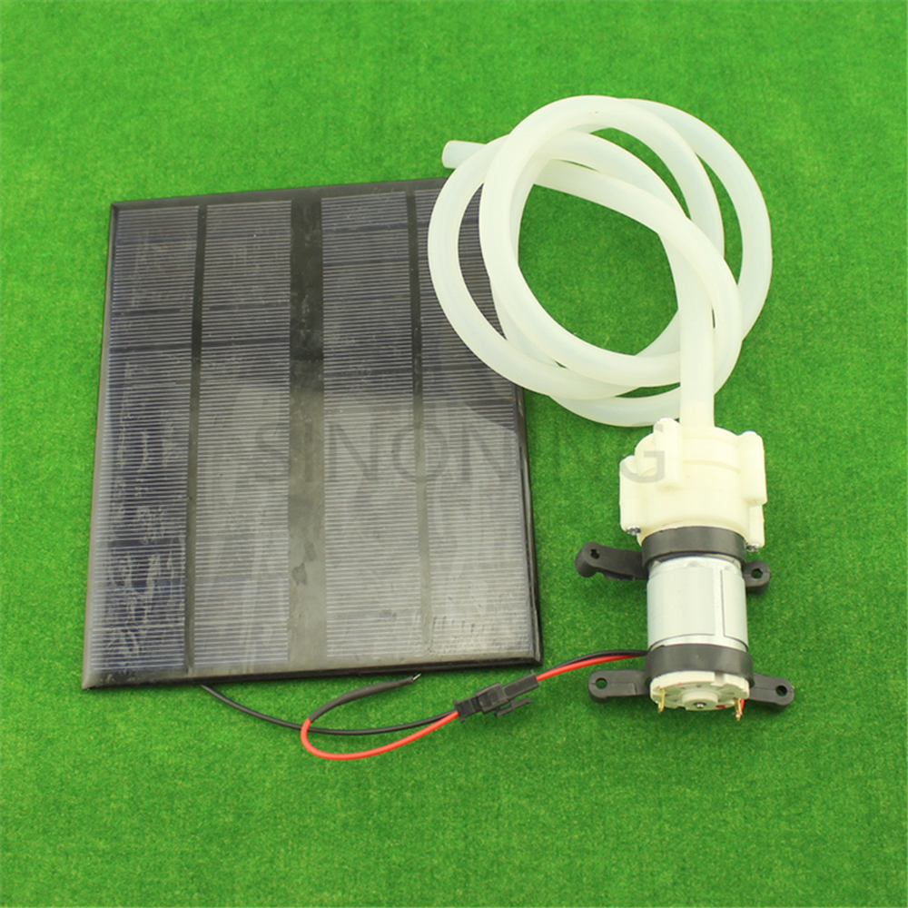 Solar Power Micro Pump Water Cooled Fish Tank Pump Diy DC Diaphragm Pump Automatic Watering Device