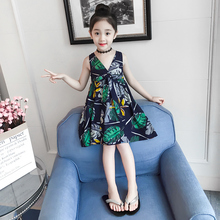 New Girls Cotton Summer Fashion Casual Dress