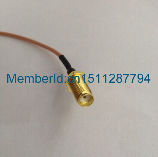 2015 Top Brand  20CM/RG178 MS-156 MS156 plug male to SMA female jack test probe  cable leads rp sma female to y type 2x ip 9 ms156 male splitter combiner cable pigtail rg316 one sma point 2 ms156 connector for lte yota