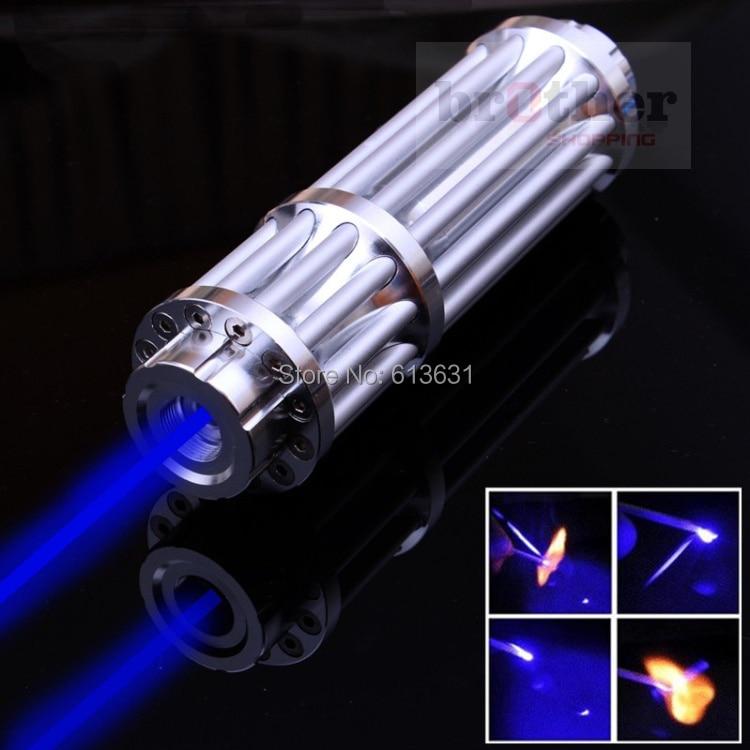 High Quality 50000mw 50W Super Blue Laser Pointers Flashlight Combustion Lgnition / Cutting /Irradiate 5000m Lazer Pen Blue авто семерку за 50000