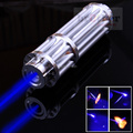 High Quality 50000mw 50W Super Blue Laser Pointers Flashlight Combustion Lgnition / Cutting /Irradiate 5000m laser pen blue