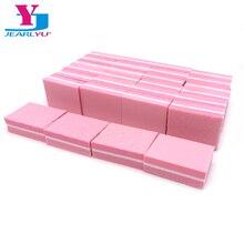 50 X Nail File Sanding Pink Buffer Block Mini Sponge Nail Fi