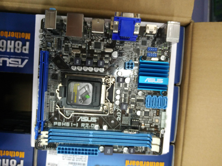 P8H61-I R2.0 ITX motherboard 1155-pin H61 motherboard
