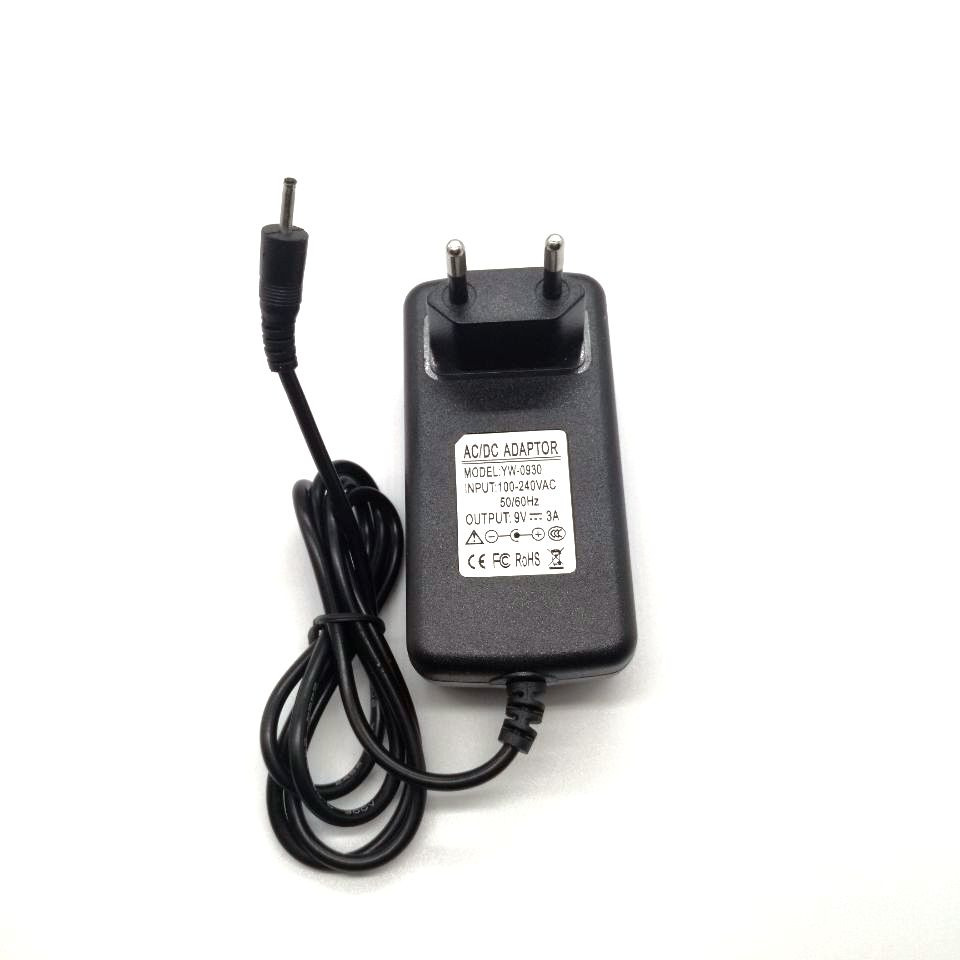 dolmobile 9V 2.5A 3A Wall Home Charger for PiPo M2 M3 M6 Pro M6 M8 3G Tablet Power Supply Adapter DC 2.5x0.7mm / 2.5*0.7mm