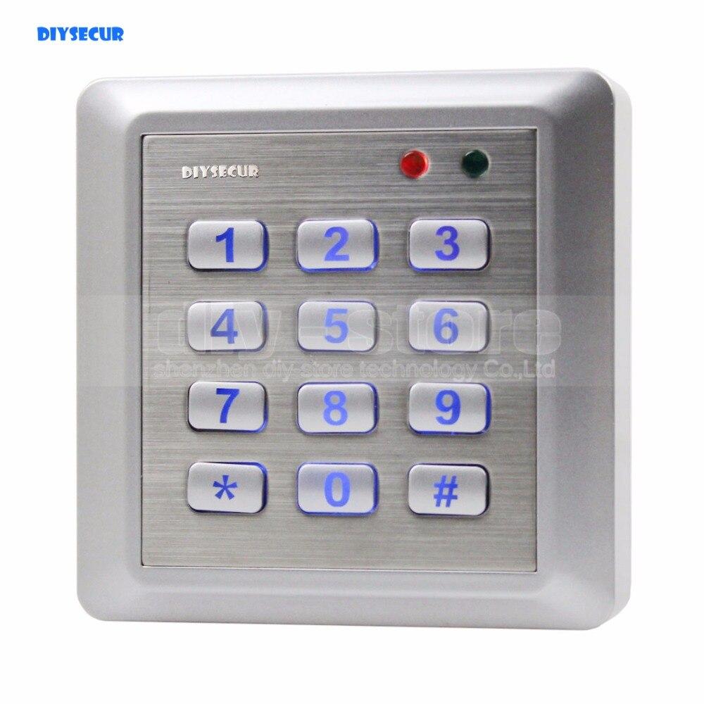 DIYSECUR nouveau clavier de système de contrôle d'accès lecteur RFID étanche