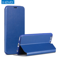 Simple Fashion Slim Leather Soft TPU Flip Case For Huawei P10 Luxury Phone Case Cover Fundas