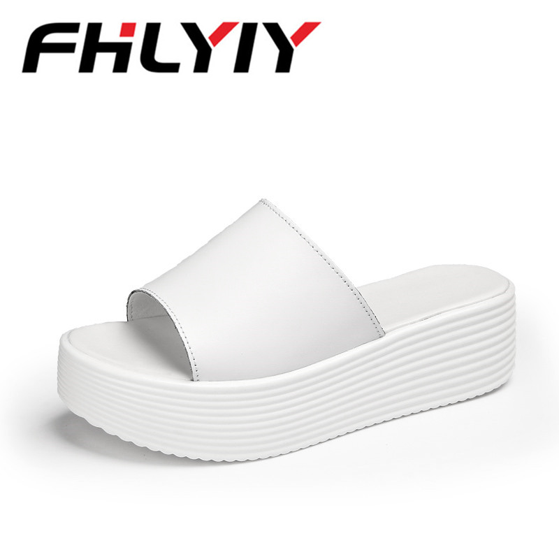 Summer Women Slipper Shoes Women Jelly Hollow Home Slippers Flip Flops Female Sandals Wedge Slippers Slides Sandalias Mujer 2018 hahaflower summer women slippers flower slipper beach thong slipper mules clogs garden shoes woman flats jelly sandals flip flop