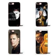 5c74485f0c3 Funda para teléfono de silicona con instrumento de guitarra y teclado de  guitarra para Apple iPhone X 4 4S 5 5S SE 5C 6 6 S 7 8 .