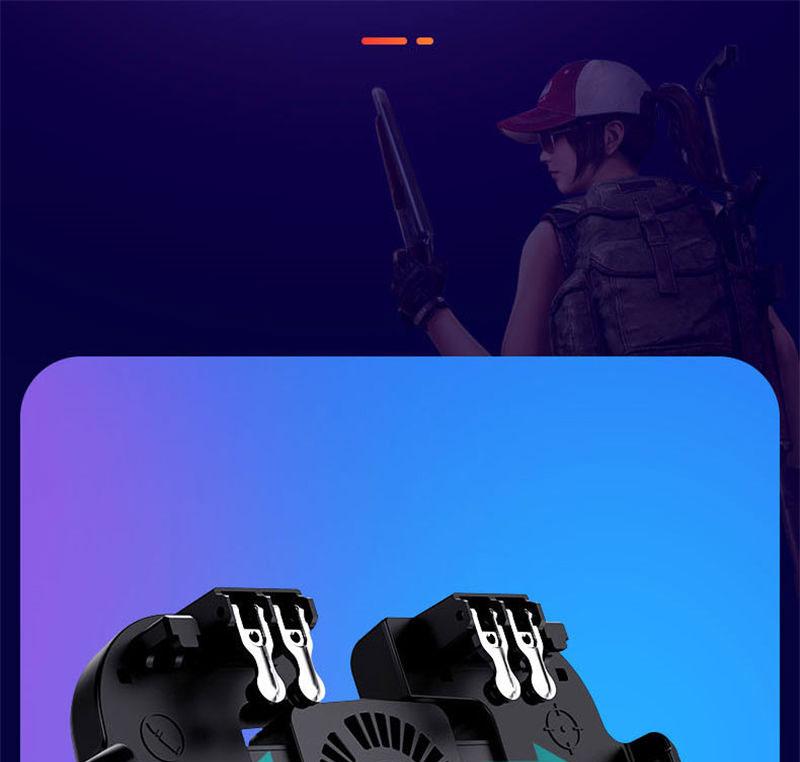 Controlador PUBG gatillo de juego móvil 12