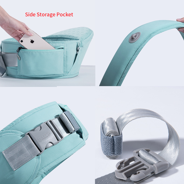 Sunveno Baby Carrier Front Facing Hipseat Kangaroo Ergonomic Baby Sling Carriers for Newborn Toddler Kids Loading Bear 20Kg   Happy Baby Mama