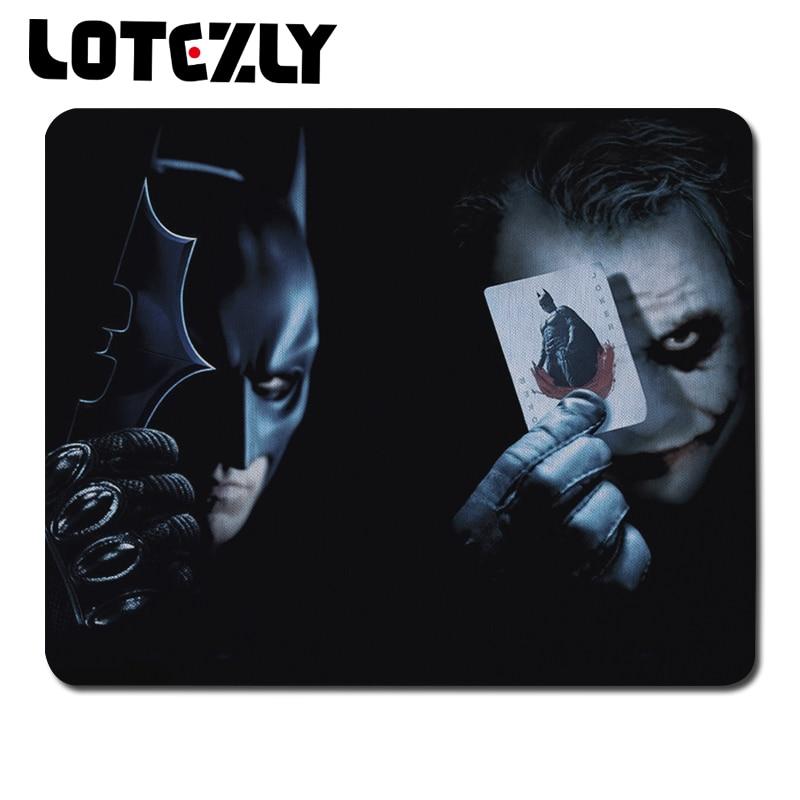 Hot Locking Edge Batman And Joker Print Mousepad Laptop ...