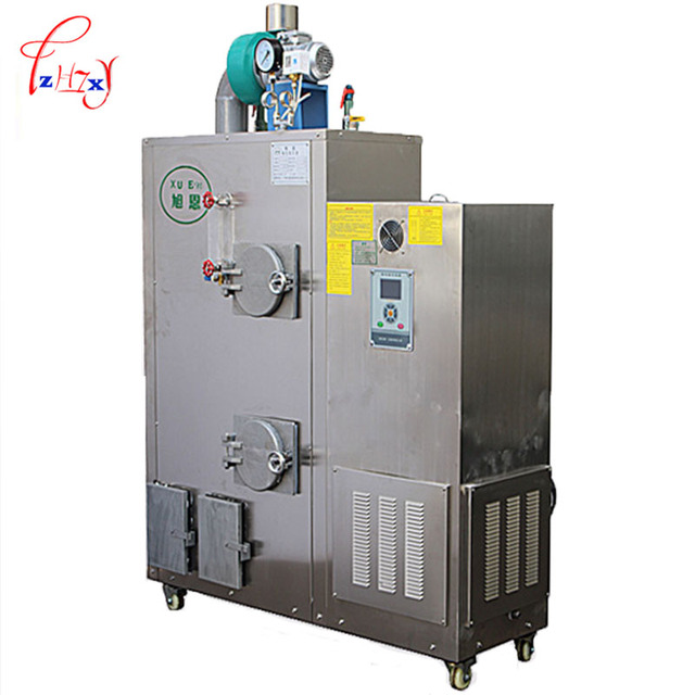 Automatic steam generator Biomass Pellets Burner Machine Biomass ...
