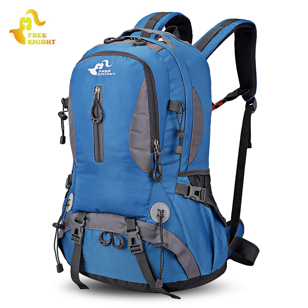 FREE KNIGHT 30L Outdoor Bags Men Camping Climbing Bag Nylon Molle Sport Backpack Waterproof Mountaineering Hiking Backpacks цена