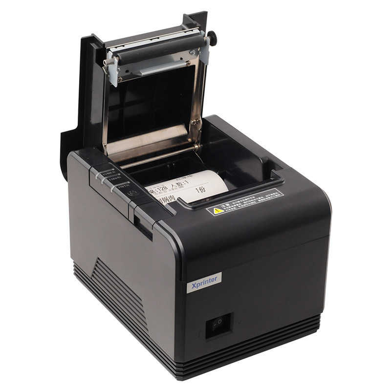 1pair 200mm/s 80mm auto cutter POS printer Thermal receipt printer Kitchen printer with USB+Serial port / Ethernet port