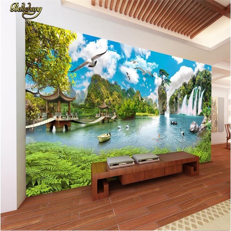 Beibehang foto sfondo personalizzato grande mural adesivi murali ...