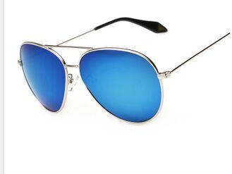 2015 Police Unisex Sunglasses Men Women Girls Cool Bat Mirror UV Protection  Aviator Sun Glasses Eyewear Accessories 6063a8112b