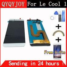 QYQYJOY LCD Pantalla Táctil Digitalizador Pantalla Para Cool1 Dual C106 asamblea Reemplazo Para Letv Le LeEco Coolpad Fresco 1 Celular teléfono