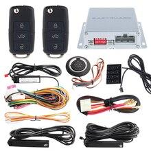 433.92 МГЦ ПКЕ автомобильная сигнализация комплект с кнопкой start stop, дистанционный запуск двигателя и дистанционного разблокировки замка автомобиля, авто окно закрыть