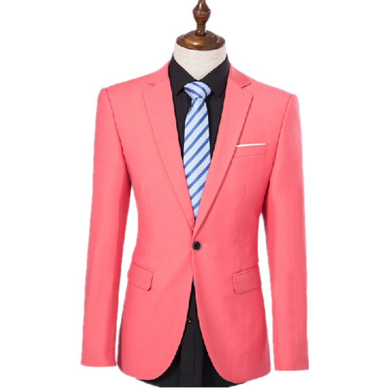 New Suits style men pink suit studio men's wear the wedding dress ...