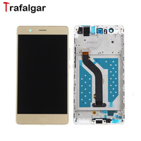 Trafalgar Huawei P9 Lite LCD Display Touch Screen Digitizer Assembly With Frame Replacement For 5 2