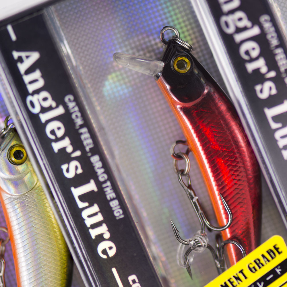 57mm 4.8g Minnow Fishing Lures Hardbaits, Countbass Freshwater Crappie Fishing Bait Sinking Type free shipping assassin topwater suspend sinking minnow fishing lures 125mm16g 125mm14 5g 130mm 13 5g