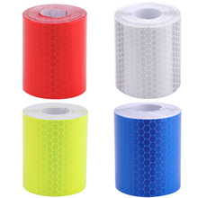 5cm*300cm Reflective Tape Stickers Car Styling For Automobiles Motorcycle Cycling Decoration Safe Material Film