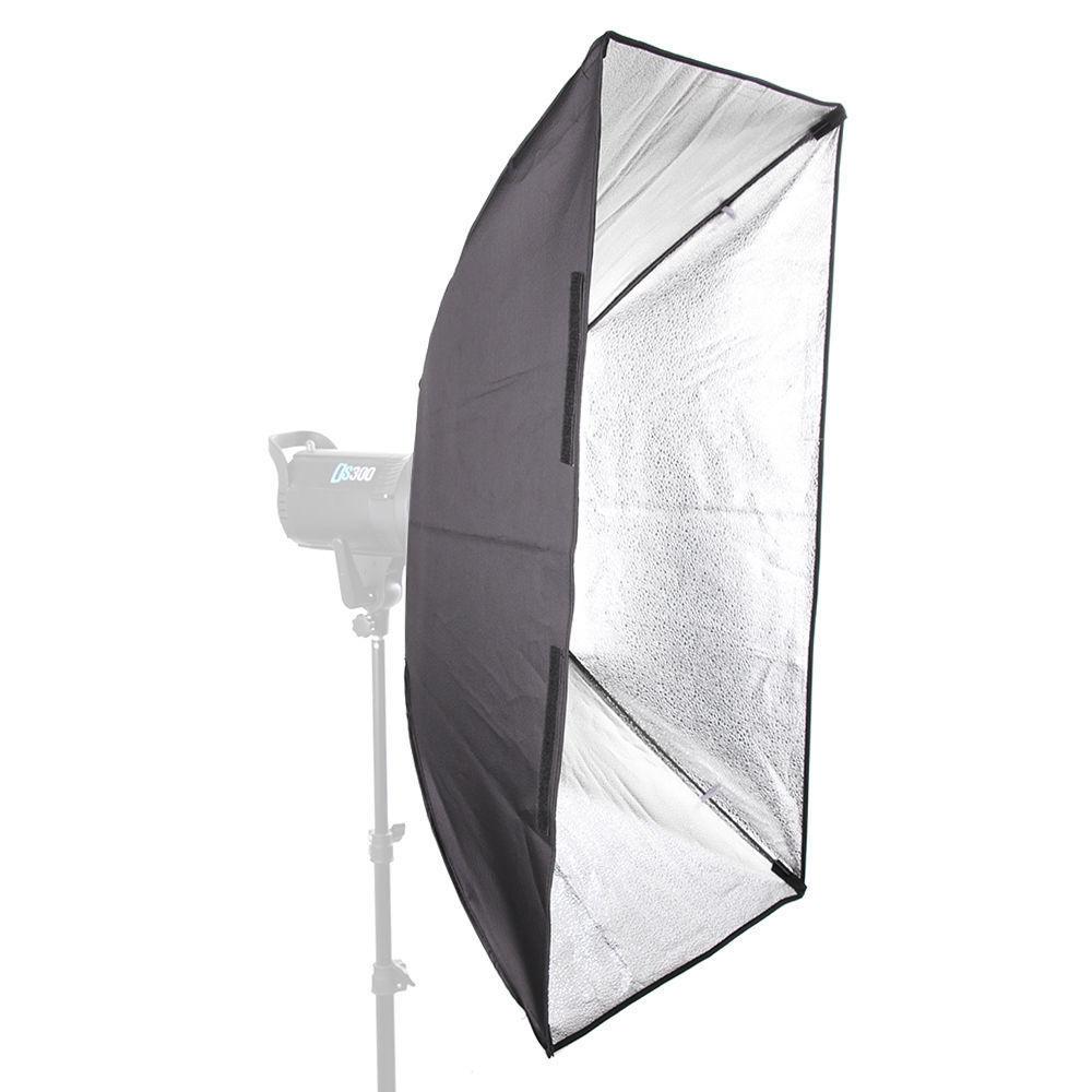 "60x90cm / / 24""x35"" Rectangular Umbrella Softbox + Metal Bowens Mount for Photo Studio Flash Strobe Light"