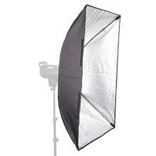 "60x90cm  24""x35"" Rectangular Umbrella Softbox + Metal Bowens Mount for Photo Studio Flash Strobe Light"