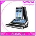 Бесплатная Доставка в Исходном Nokia E7 Мобильный Телефон Камеры 8MP GPS WI-FI 16 ГБ Storange Nokia Смартфон