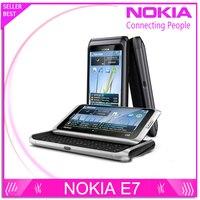 Free Shipping Original E7 Nokia Mobile Phone Camera 8MP GPS WIFI 16GB Storange Nokia Smart Phone
