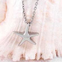 10 pcs Starfish Urn Necklace