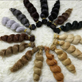 10PCS/LOT New Curly  Doll Hair Accessories 15CM BJD Hair Wig For Dolls DIY
