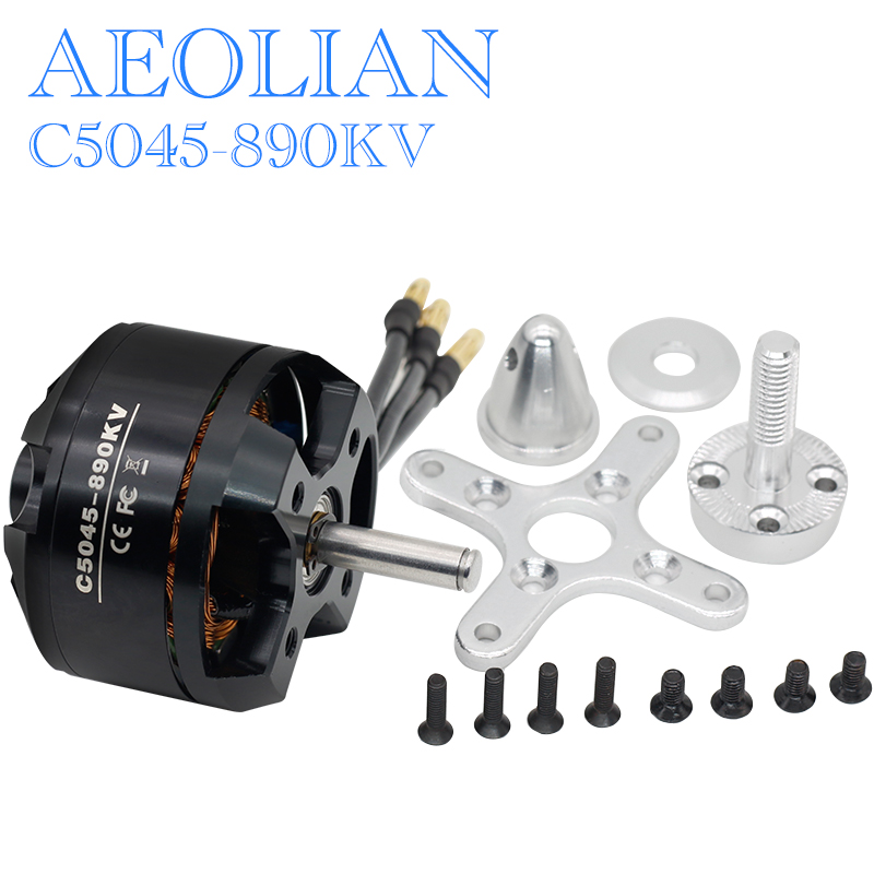 Aeolian C5045 890kv for RC airplane quadcopter outrunner brusless motor