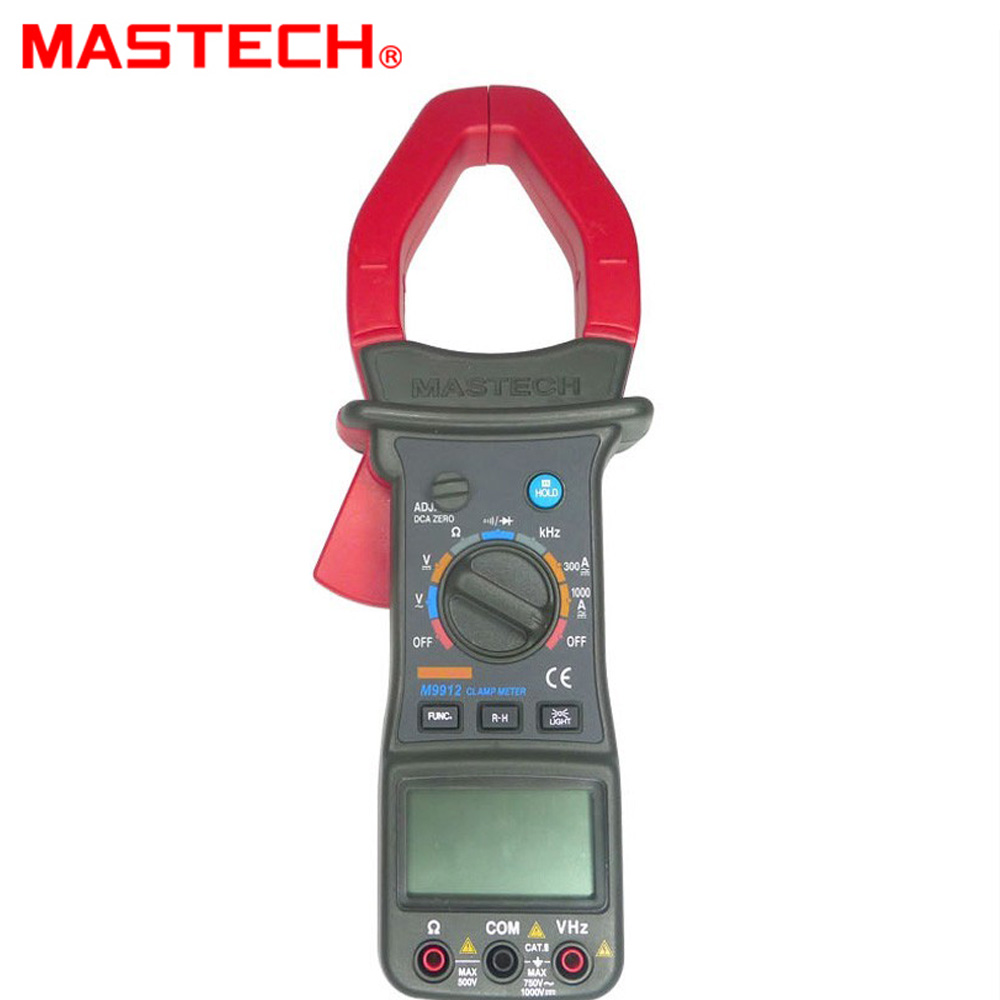 MASTECH MS9912 Professional AC/DC Digtal Clamp Meter mastech wholesale 6000 cunts ac digtal clamp meter ms2026r o021
