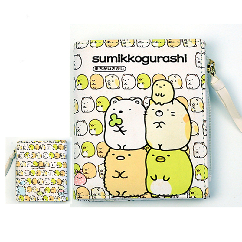 где купить Dagashi Kashi/ETERNAL SKY/kantai collection/ONE PUNCH-MAN/Sumikkogurashi Anime Short Wallet Pu Kawaii Purse with Coin Pocket по лучшей цене