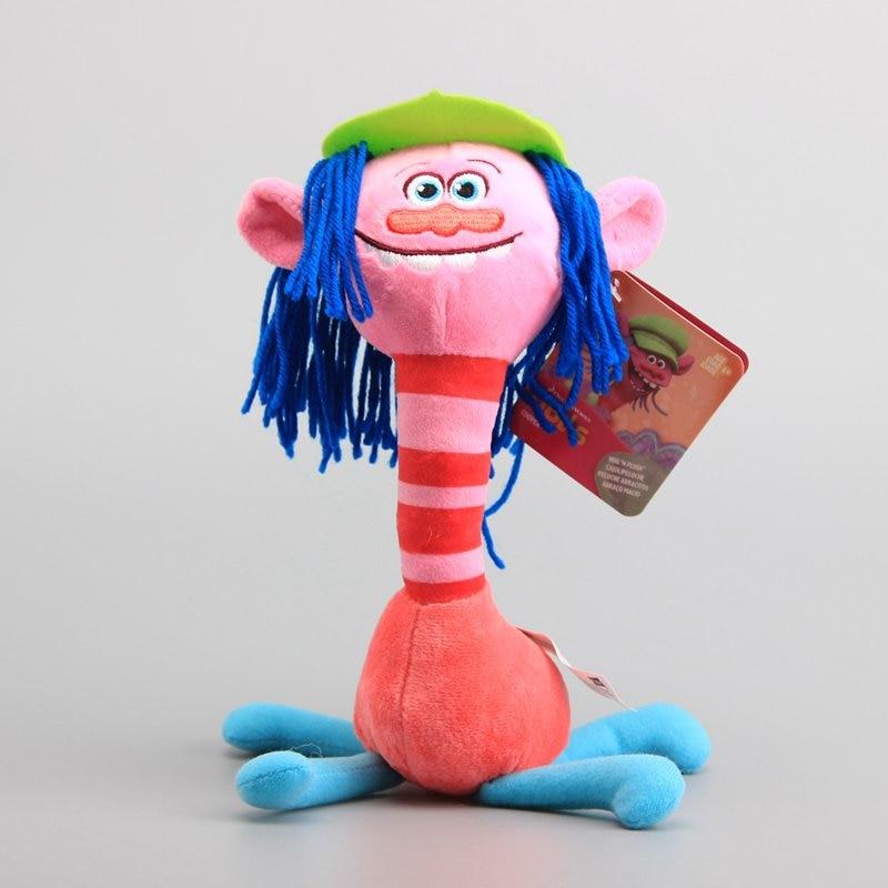 Hot Sale Movie Trolls Mega Town Enchanted Fairy Pink Cooper Plush Toys Magic Elf Stuffed Dolls 10 25 CM