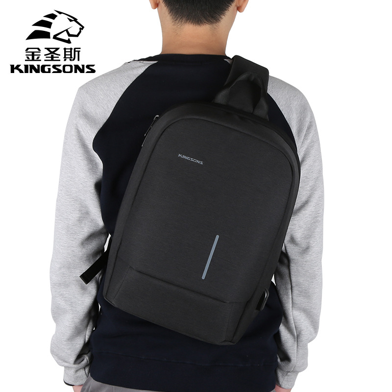 kingsons Laptop Bag for 13.3 notebook computer single shoulder bag for 10.1 Tablet computer package free shipping ...