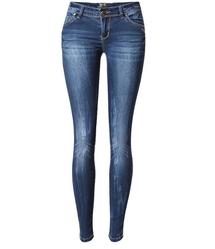 ФОТО  feminino high waist jeans woman skinny ripped jeans for women warm jeans femme american apparel denim pants vaqueros mujer jean