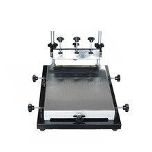 Single Color Screen Printer T-shirt Screen Printing Machine 24*30cm Flat Printing Press color block single pocket t shirt