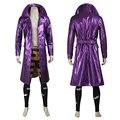 NUEVA VERSIÓN Comando Suicida Joker Batman Villain Cosplay Disfraces de Halloween Personalizar Zanja Piel De Serpiente para cualquier tamaño por encargo