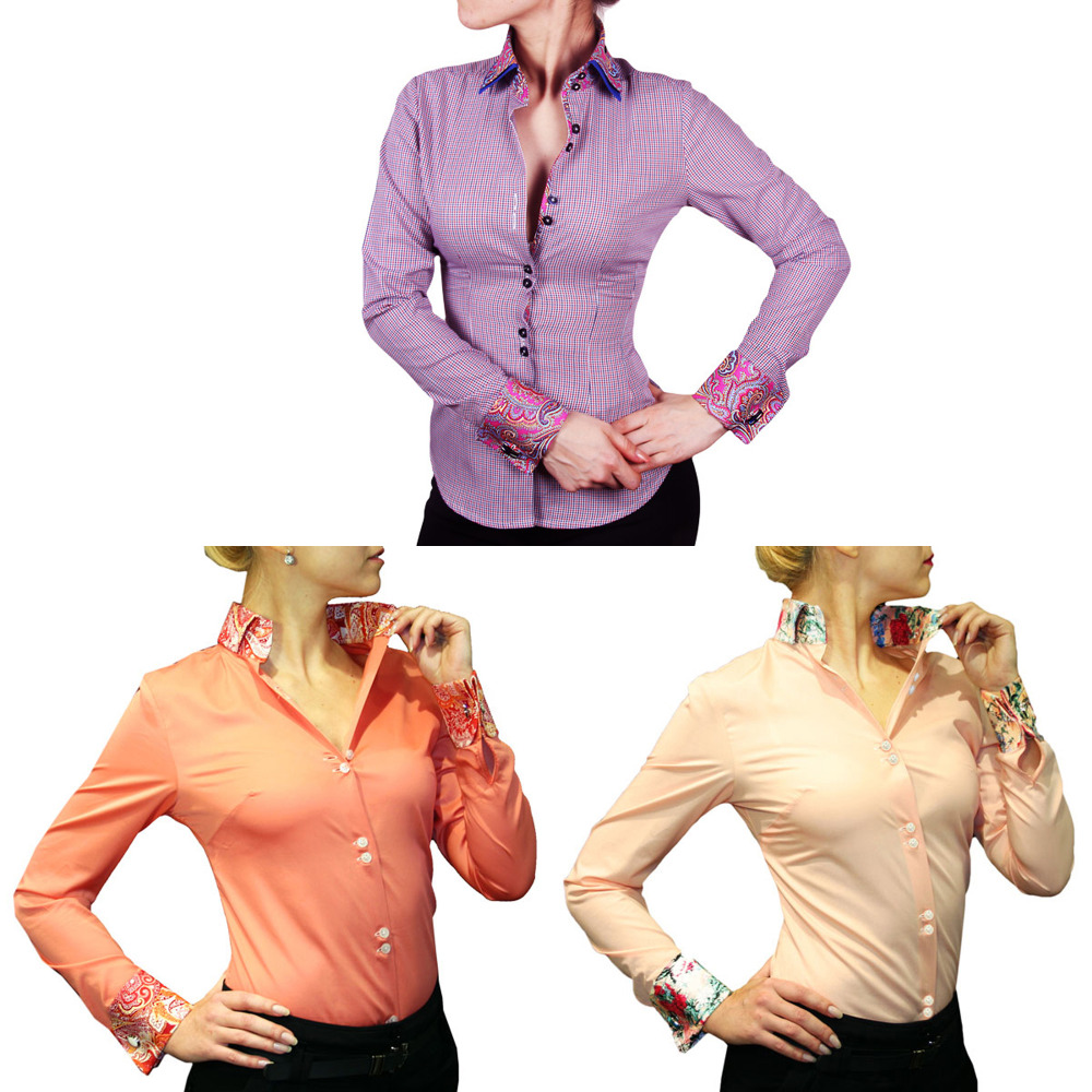 2eb84419 Button Down Collar Womens Shirt – EDGE Engineering and Consulting ...