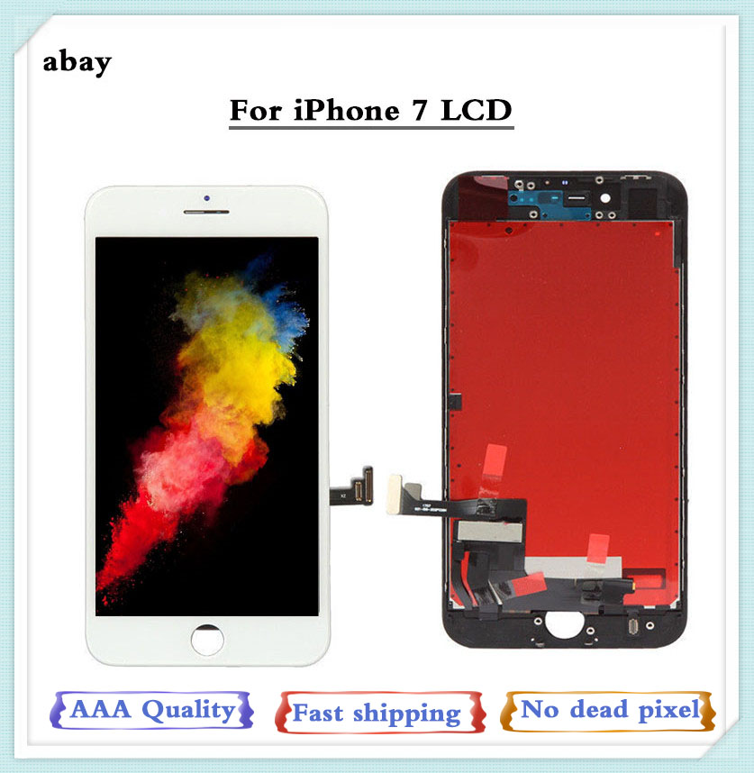 AAA For iphone 7 LCD Display Touch Screen Digitizer Assembly for iPhone 7 screen Replacement lcd A1660 <font><b>A1778</b></font> A1779 4.7 Inch image