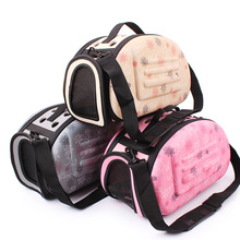 Pet Small Dog Cat Bed Mats house Foldable Travel Carrier Handbag Travel Puppy Carrying Backpacks Mesh Shoulder Bags Pet supplies