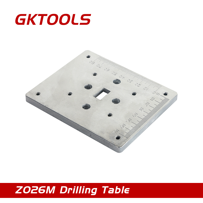 GKTOOLS, Metal drilling table for the mini drill machine, Z026M. electric power drill press stand table for drill workbench repair tool clamp for drilling collet table 35