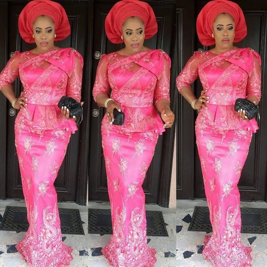 Atractivo Trajes Tradicionales De Nigeria Boda Ornamento - Colección ...