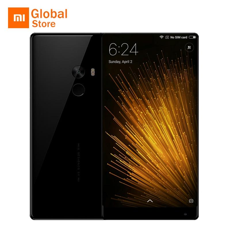 "Original Xiaomi Mi MIX Mobile Phone Snapdragon 821 4GB RAM 128GB ROM 6.4"" 2040x1080P FHD Edgeless Display Full Ceramics Body"