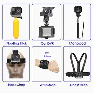 Image 4 - Original EKEN H6S Ultra HD Action Camera with Ambarella A12 chip 4k/30fps 1080p/60fps EIS 30M Waterproof Sport Camera