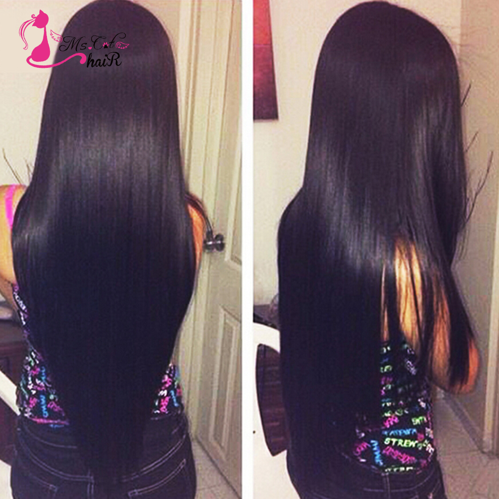 7a 3pcs Peruvian Straight Virgin Hair with Closure Straight Lace Closure with Bundles Queen Hair Products with Closure Bundle