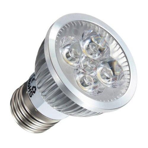 Half Dozen 6pcs E27 4W LED White Spot Down Light Lamp Bulb ship Type:4W-4LED ( Light Color:Cool White Or Warm White )