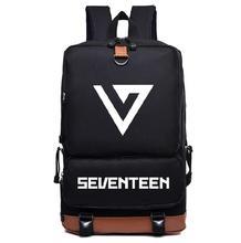 Поп семнадцать 17 нейлон моды школьный рюкзак сумка мешок отдыха